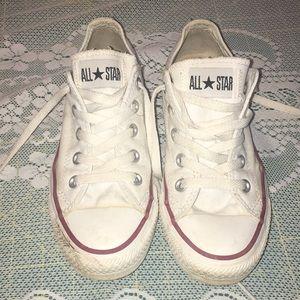 White Converse All-Stars